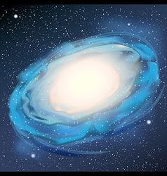 Milky Way realistic vector