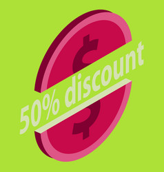 Special offer sale tag isolated discount offer vector