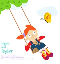 Swing fun vector