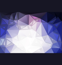 Pale pink blue random sizes low poly background vector
