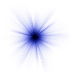 Abstract burst on white EPS 8 vector image vector image