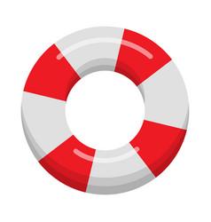 lifebuoy isolated on white background vector image