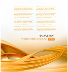 abstract gold elegant business background vector image vector image