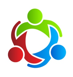 Business logo design partners 3 vector image vector image