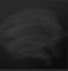 chalkboard black background board template vector image