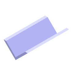 Clean gutter icon isometric style vector