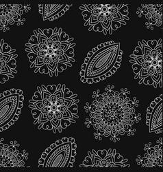 folk pattern-03 vector image