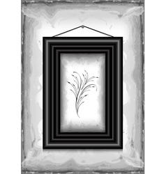 Frame on grunge texture background vector