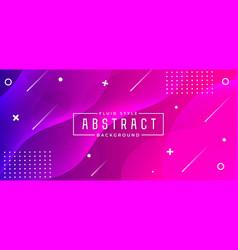 Modern abstract fluid background vector