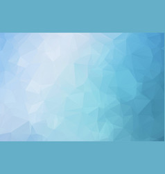 ocean blue polygon abstract background vector image
