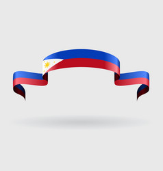 Philippines flag background vector image