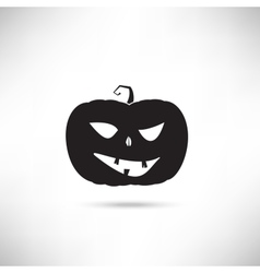 Pumpkin Black Silhouette vector