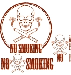 Stop smoking idea concept vector