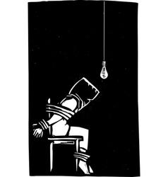 Torture vector image