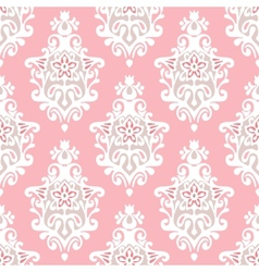 damask flourish vector image