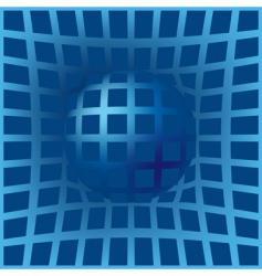 warped background vector image vector image