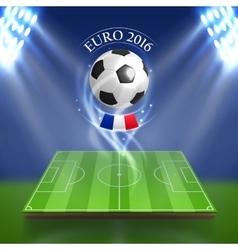 Euro 2016 concept vector image