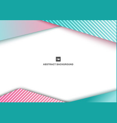 abstract template geometric triangle blue and vector image