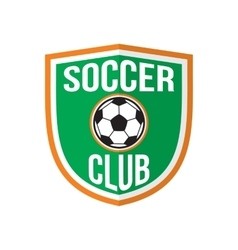 Best soccer club logo vector