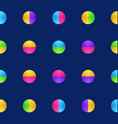 colorful circle pattern texture background in vector image