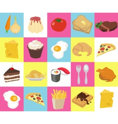Food Texture vector image