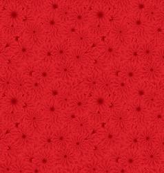 Geometric Bright Floral Backdrop vector