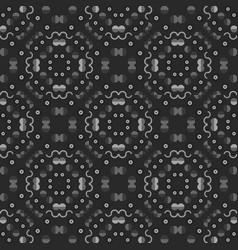 Geometric symmetry seamless pattern vector