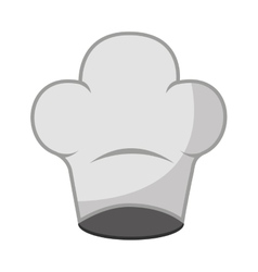 hat chef uniform icon vector image