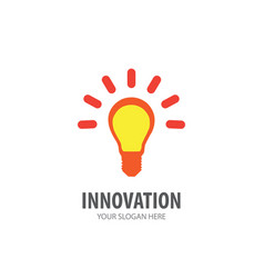 innovation logo for business company simple vector image