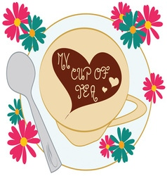My Cup Of Tea vector