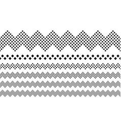 Repeating abstract diagonal square pattern vector