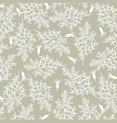 vintage background with flowers background vector image