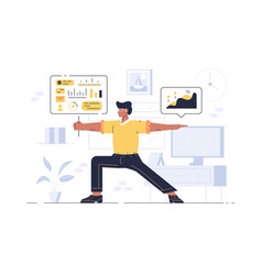 Worker showing balance in work vector