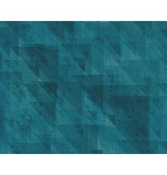 abstraction retro triangles background vector image vector image