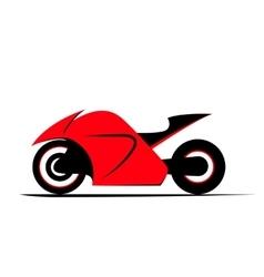 Sport bike Motorcycle vector image