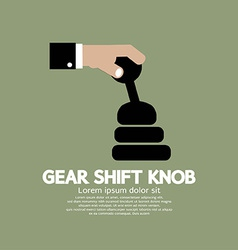 Gear Shift Knob vector image