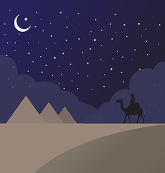 Sand of Egypt vector image