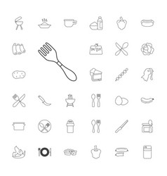 33 cooking icons vector