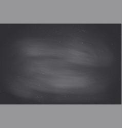 black empty chalkboard background surface vector image