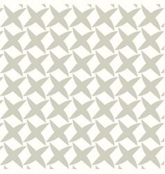 cross leaf pattern vector image