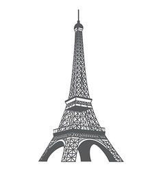 Eiffel tower xs vector image
