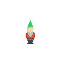 flat icon dwarf element of vector image