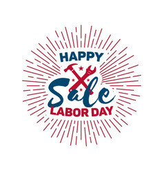 labor day - national holiday usa vector image