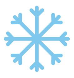 Merry christmas snowflake design vector