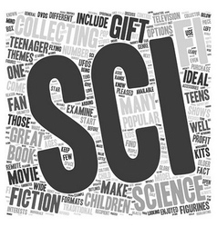 Sci fi collectibles that make great gifts for kids vector