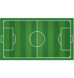 soccer field football field vector image