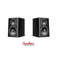 sound speaker loudspeaker icon vector image