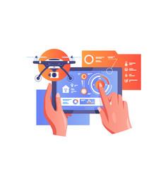 technology smart home vector image
