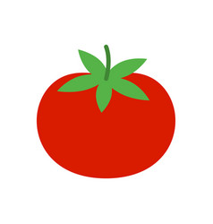 tomato icon vegetable from farm vector image