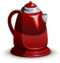 Waterboiler electric teapot vector